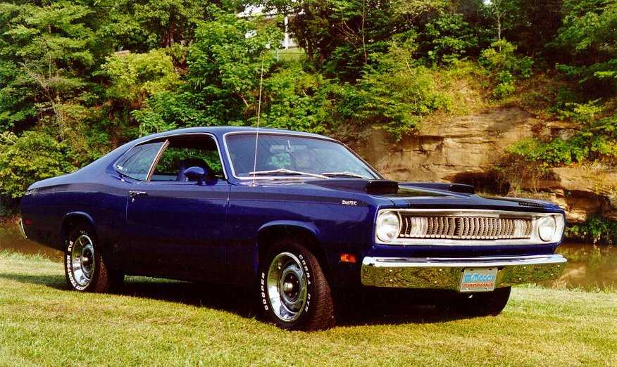 1971 plymouth duster 440 project after
